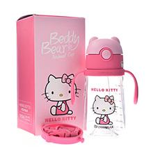 韩国杯具熊 Hello Kitty联名萌宠学饮杯(380ml)经典Kitty-配礼袋