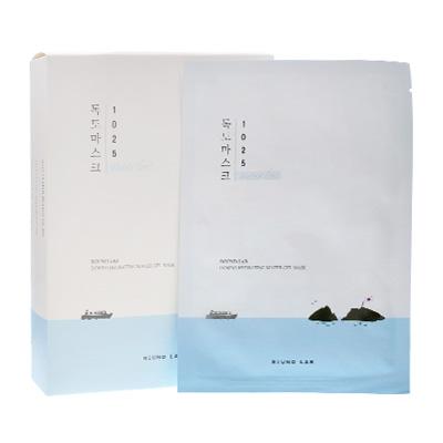 韩国roundlab 独岛补水保湿面膜(18片)
