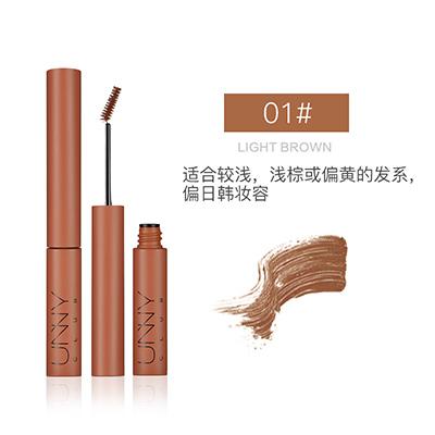 韩国UNNY 防水立体持妆染眉膏/染眉液(3g)01#浅棕色