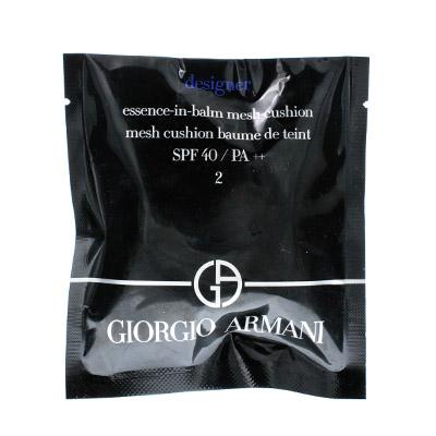 Armani 阿玛尼菁华蓝盒气垫SPF40(2g)2#粉调一白