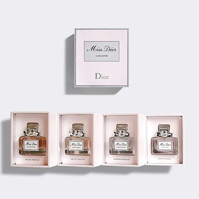 CD 迪奥小姐女士香水4件套(5ml*4)