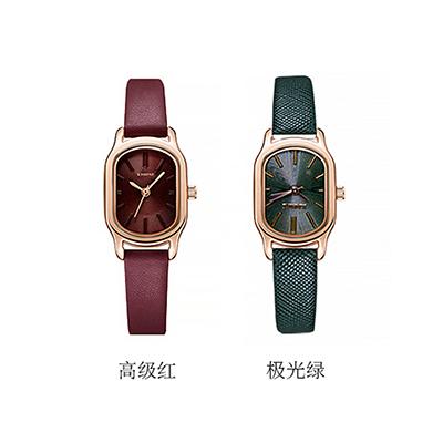 (直发)日本KISHINE 女士石英手表简约皮带款(1只)下单备注颜色