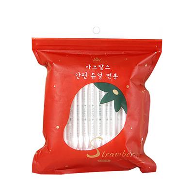 韩国AMORTALS 尔木萄独立包装双头棉签(100只)