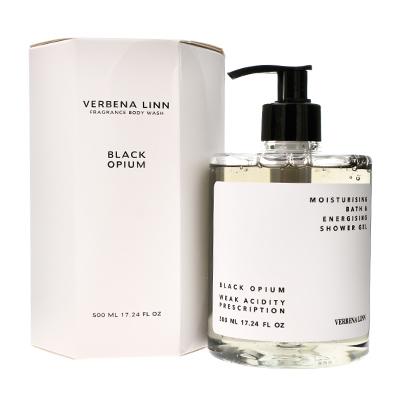 Verbena Linn 烟酰胺香氛沐浴露(500ml)黑鸦片