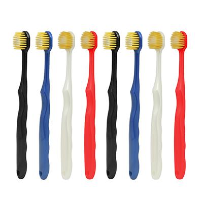 (直发包邮)尚口清 双重软毛宽头牙刷(8支装)3305