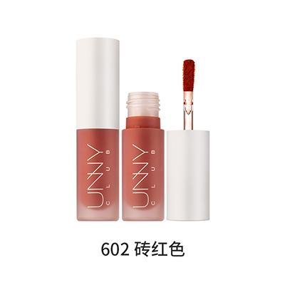 韩国UNNY 绒雾哑光唇泥/唇釉(2.8g)602#砖红色