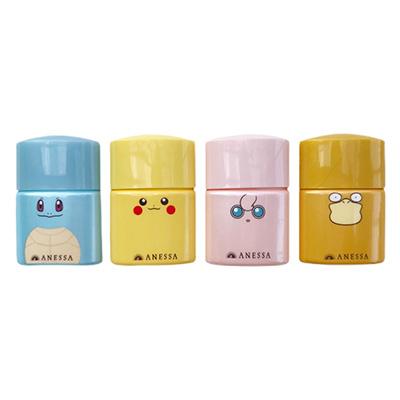 日本Shiseido 资生堂安耐晒小金瓶防晒霜SPF50+(12ml)卡通限量版-随机发