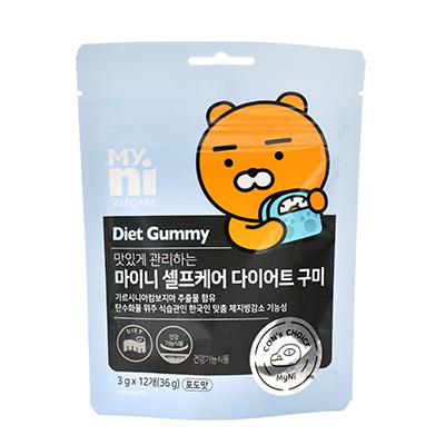 韩国日东 小熊葡萄味软糖(3g*12粒)碳水阻断