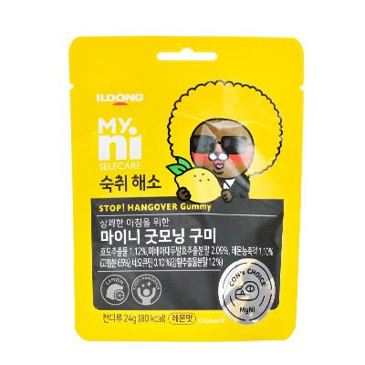 韩国日东 小熊柠檬味软糖(24g约8粒)防宿醉