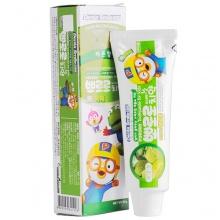 韩国PORORO 宝露露小企鹅低氟护齿儿童牙膏(90g)哈密瓜