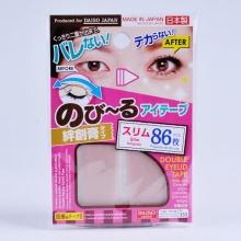日本大创DAISO 肤色创可贴加细型双眼皮贴(86枚)纤细型