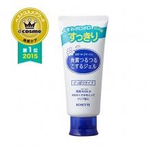 日本COSME大赏 Rosette诗留美屋面部去角质死皮凝胶(120g)蓝色 清爽经典版