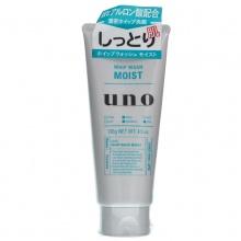 日本Shiseido 资生堂UNO吾诺男士洗面奶(130g)绿色保湿