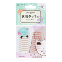 日本LUCKY beauty world 素肌双眼皮贴/肉色隐形(30对)