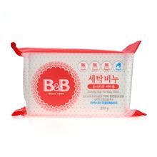 韩国保宁 B B婴幼儿抗菌洗衣皂(200g)洋槐香-随机发