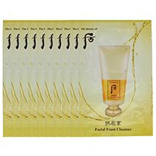 韩国whoo后 拱辰享 气津平衡泡沫洗面奶(120袋/包)