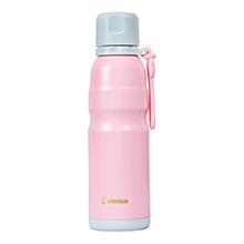 韩国杯具熊 户外运动恒温运动水壶/保温保冷杯(550ml)粉色-配礼袋