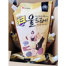 (直发)韩国LG中性柔软洗衣液袋装(1箱10袋)