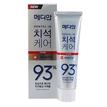 韩国爱茉莉 MEDIAN麦迪安93%抑制牙垢牙结石牙膏(120g)白色