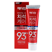 韩国爱茉莉 MEDIAN麦迪安93%抑制牙垢牙结石牙膏(120g)红色