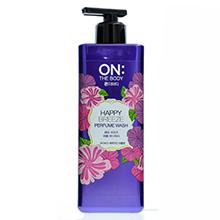 韩国LG 秀智代言 自然花园持久花香沐浴露(500g)紫瓶-随机发