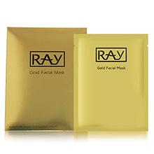 泰国RAY 蚕丝面膜(35g*10片)金色修复紧致-妆蕾版