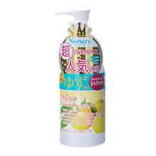 日本COSME大赏 Nursery 柚子味卸妆啫喱(180ml)随机发