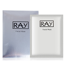 泰国RAY 蚕丝面膜(35g*10片)银色补水嫩肤-妆蕾版