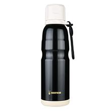 韩国杯具熊 户外运动恒温运动水壶/保温保冷杯(550ml)黑色-配礼袋