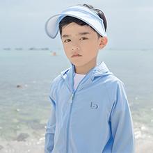 特-韩国lets diet 儿童透气防紫外线防晒衣UPF50+(1件)蓝色