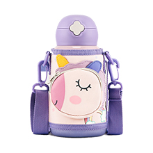 韩国杯具熊 口袋动物系列儿童保温杯(630ml)独角兽-配礼袋