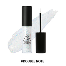 韩国3CE 一滴泪液体眼影(4.5g)1#double note大闪片