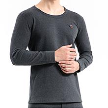 韩国lets diet 男士微电流除螨保暖衣(均码)深灰色-随机发