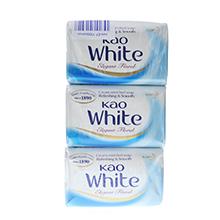 KAO 花王天然植物牛乳沐浴香皂(130g*3)牛奶香-港版