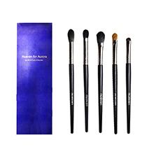 日本NUSVAN 眼影刷化妆刷5件套装(5支)随机发