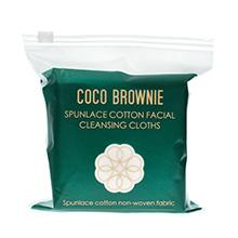 新西兰coco brownie 超厚实耐用干湿两用洗脸巾(20片)随机发