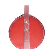 雅诗兰黛 红色圆形手提包/化妆包(1个)