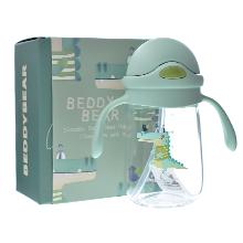 韩国杯具熊 Tritan材质潮酷系列学饮杯(300ml)鳄鱼-配礼袋