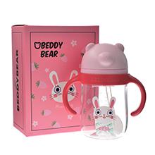 韩国杯具熊 火火系列学饮杯(360ml)火火兔-配礼袋