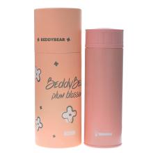 韩国杯具熊 梅花商务保温杯(420ml)粉色-配礼袋