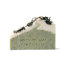 日本PEEGY BEAUTY 北海道花园系列手工皂(100g)送起泡网-薄荷抹茶
