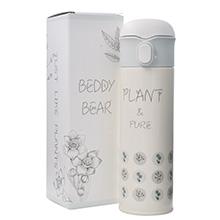 韩国杯具熊 真空不锈钢成人保温杯/保冷杯(500ml)花草集-配礼袋