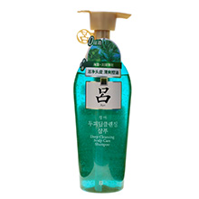 爱茉莉 绿吕去屑控油洗发水(400g)带中文