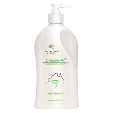 澳洲 G M Lanolin Cream维生素E保湿绵羊油霜/身体乳(500g)家庭装-随机发