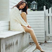 韩国lets diet 9+微电流高腰收腹加绒打底袜(肤色)连脚-光腿神器
