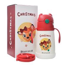 韩国杯具熊 2020圣诞系列保温学饮杯(320ml)幸运鹿-配礼袋