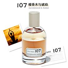 blings 自然实验室中性香水(50ml)107 檀香木与琥珀-EDP