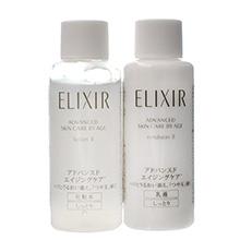 日本ELIXIR 怡丽丝尔蕴能凝时水乳(18ml*2)2号滋润型