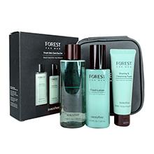Innisfree 悦诗风吟森林男士3件套礼盒(水+乳+洁面)送化妆包