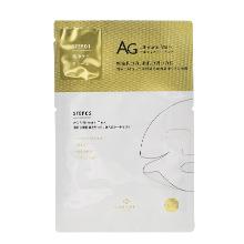 日本AG 抗糖cocochi修复补胶原蛋白2步曲面膜(单片)金色